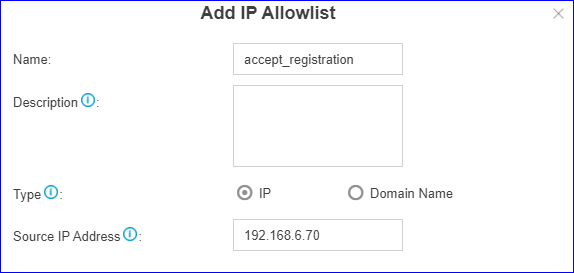 Add Trusted IP Addresses into Whitelist