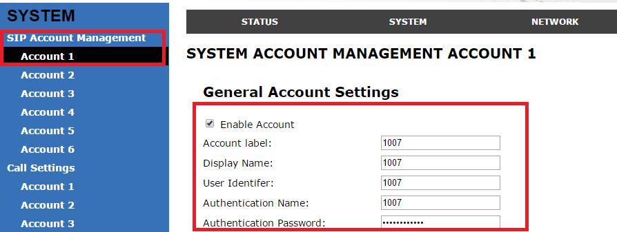 in2pbx Extension Registration | in2tel Ireland