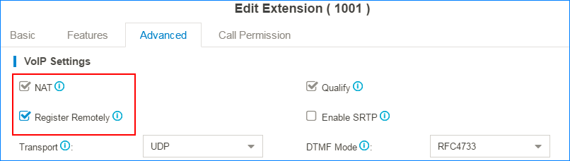 Register a Remote Extension of Yeastar S-Series VoIP PBX
