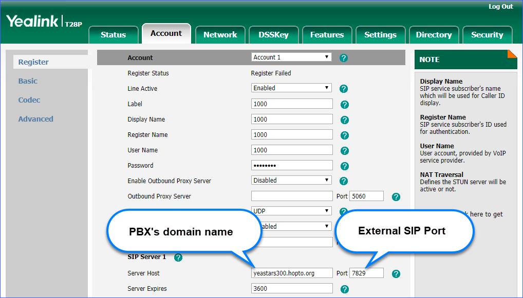 Set up No-IP DDNS on Yeastar S-Series VoIP PBX